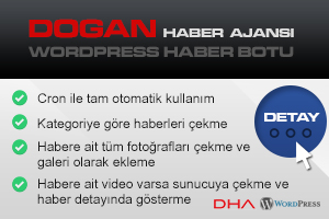 DHA Wordpress Haber Botu